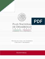Programa Gobierno Cercano y Moderno