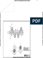 Desen in Autocad - Arbore Cotit-Model