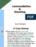 Accommodation & Housing