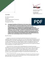 Verizon FCC Communication