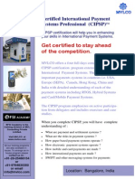 Certificate in International Payment Systems Bangalore