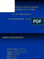 Consideratii Anatomo-clinice Asupra Mersului La Copil
