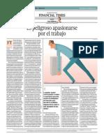 Es Peligroso Apasionarse Por El Trabajo_El Comercio 10-06-2014