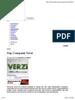 2012 Top Companii Verzi – Biz Mag 7 Iunie
