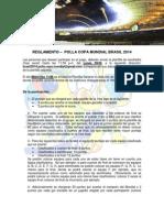Reglamento de Polla Mundial Brasil 2014