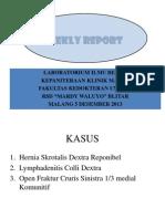 Weekly Report MINGGU 6