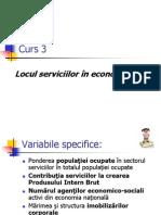 Curs 3 Economia Serviciilor