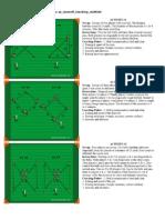 Diagonal Runs Midfielders