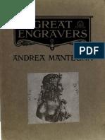 Arthur Mayger Hind - Andrea Mantegna and the Italian Pre-Raphaelite Engravers