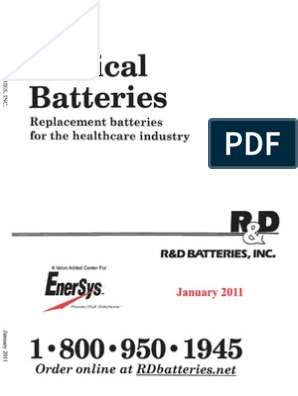 Catalogo de Pilas 27 Mayo 2014   Rechargeable Battery   Battery