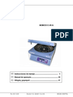 Centrifuga- C28A-Manual de Uso- Rev 00- Dic-09