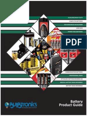 Minuteman EBP4 Battery Replacement Kit