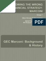 Grop 7 Presentation - Marconi