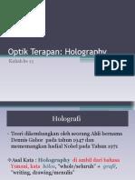Kuli Ah Ke 13 Opt e Holography