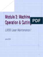 Tru Laser [Basic Machine Operation & PM]