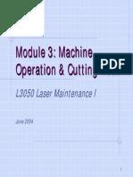 Tru Laser [Basic Machine Operation & PM]