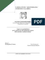 """""""Approccio probabilistico per la valutazione dell'affidabilità sismica delle muratura confinate italiane"""""""