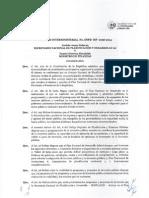 Acuerdo Interministerial N SNPD MF 0056 2014