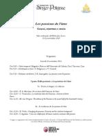 Les Passions de l'âme - Genesi, struttura e storia