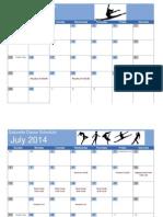 gatorette dance calendar