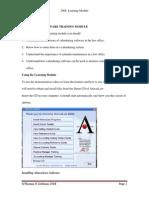 2006 ABACUSLAW Learning Module