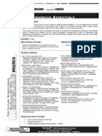 [Xxxx] Syllabus - Networking Essential - 080614