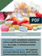 Proiect Vitamine Si Medicamente