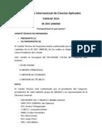 COINCAP 2014 - ORGANIZACIÓN