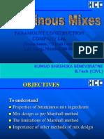 Bituminous Mixes