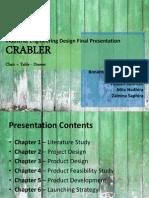 Crabler Presentation