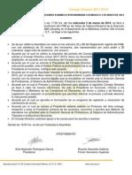 CNB MinutaAsambleaExtraordinaria 05-03-2014 ACUERDOS CNB