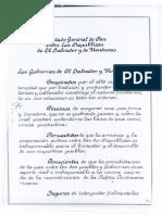 1.- Tratado General de Paz Entre Honduras y El Salvador