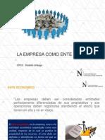 Clase 01 La Empresa Como Ente Economico