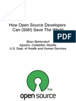 How Open Source Developers Can (Still!) Save the World