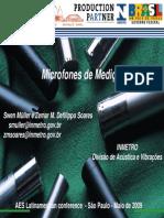 Microfones AES 2009