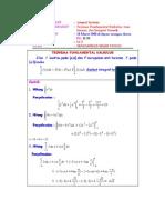 Luas Dataran Integrasi Numerik