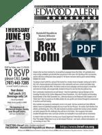 HRWF June 2014 Redwood Alert