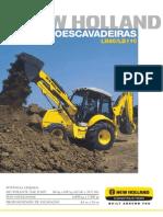 Retroescavadeira - New Holland LB90-LB110