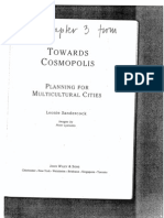 110373246 Leonie Sandercock 1998 Exploring Planning s Knowledges Towards Cosmopolis Planning for Multicultural Cities