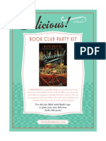 Delicious! by Ruth Reichl - Book Club Party Kit