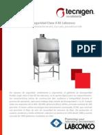 Labconco Gabinete Bioseguridad Clase II B2