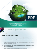 Environment Ppt Template 020
