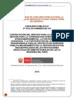 Bases CP 0030 EAG 1 Participación Convocado 30 05 2014