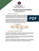 Guia de Estudios Direccionamiento Basico