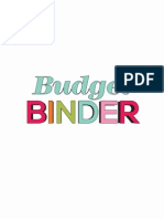 30 handmade days Budget Binder