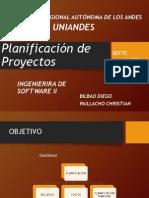Planeación de Proyectos 02-06-2014
