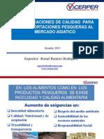 02 Certificaciones de Calidad Para Las Exportaciones Pesqueras Al Mercado Asiático