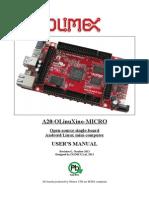 A20 OLinuXino Micro