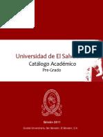 Catalogo Academico _2011 FINAL_UES