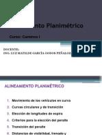 16 ALINEAMIENTO PLANIMÉTRICO